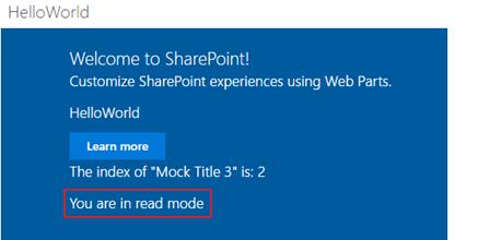 SharePoint Framework (SPFx) WebPart SharePoint Entegrasyonu Bölüm 1